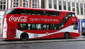 Bus ad campaign